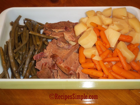 Slow Cooker Ham and Potatoes