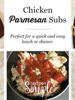 Chicken Parmesan Subs