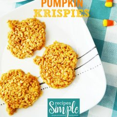 Pumpkin Krispies