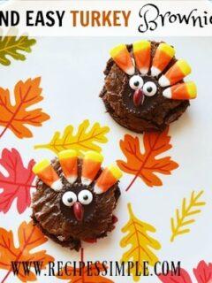 Turkey Brownie Recipe