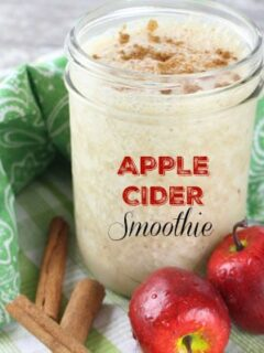 Apple Cider Smoothie Recipe