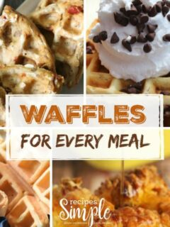 Waffles for Every Meal Ideas