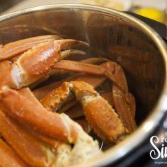 Steamed crab legs Instant Pot