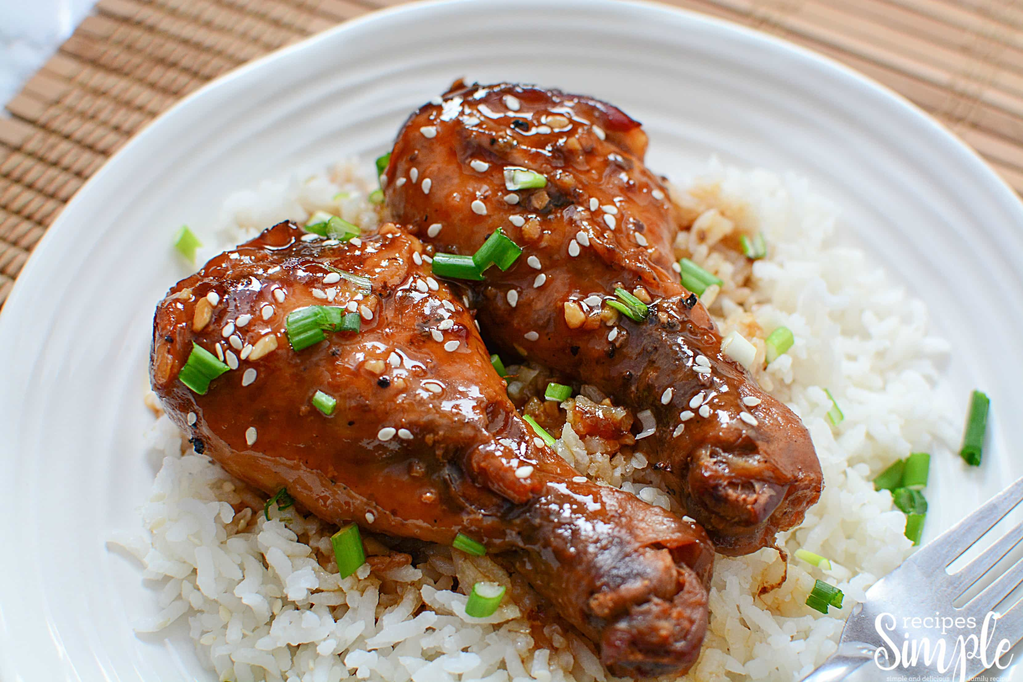Slow Cooker Honey Garlic Chicken Legs13