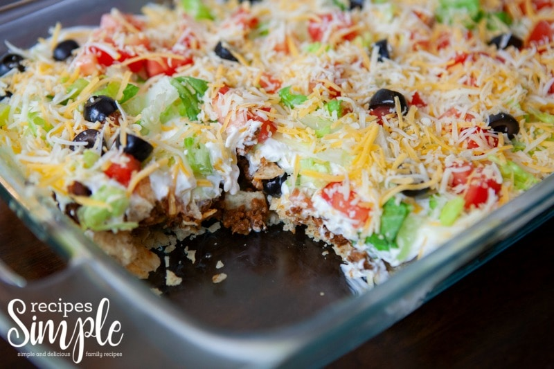 Easy Taco Casserole Meal
