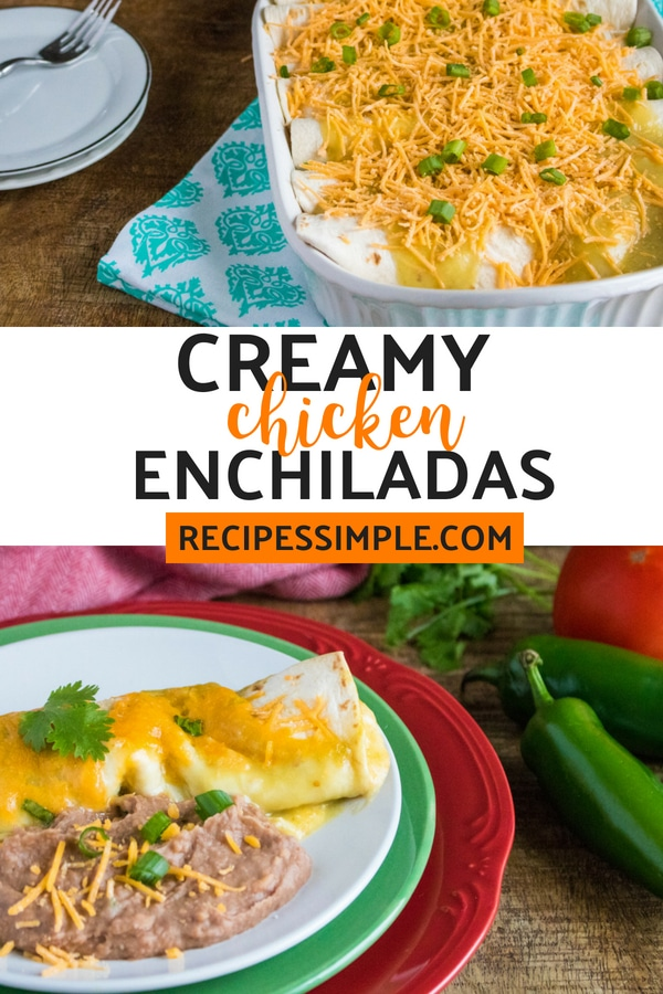 homemade chicken enchiladas (3)