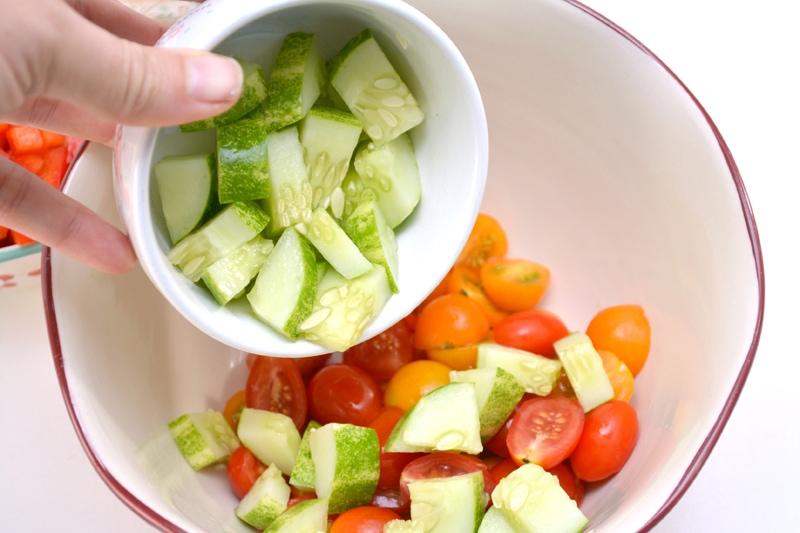 Bean Salad Vegetables