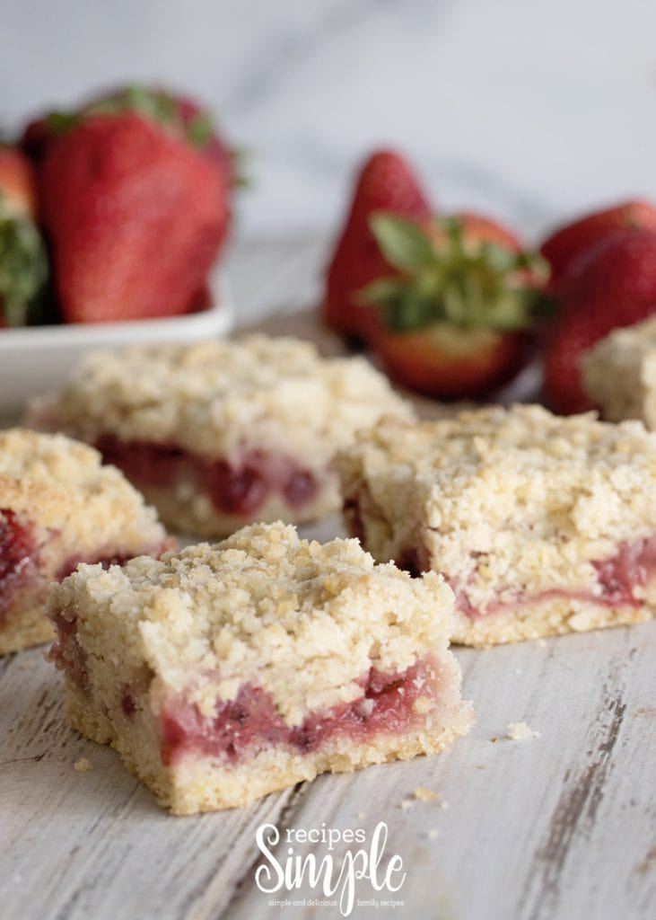 Best Strawberry Crumb Bars