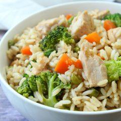 Chicken Teriyaki Rice Bowl