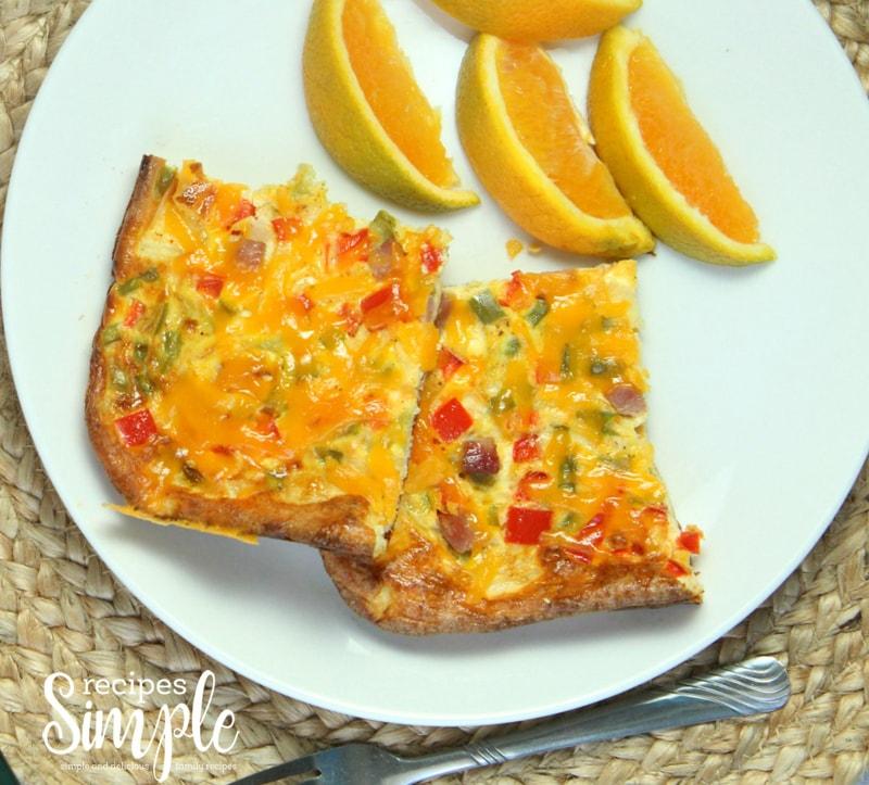 Western Baked Omelet