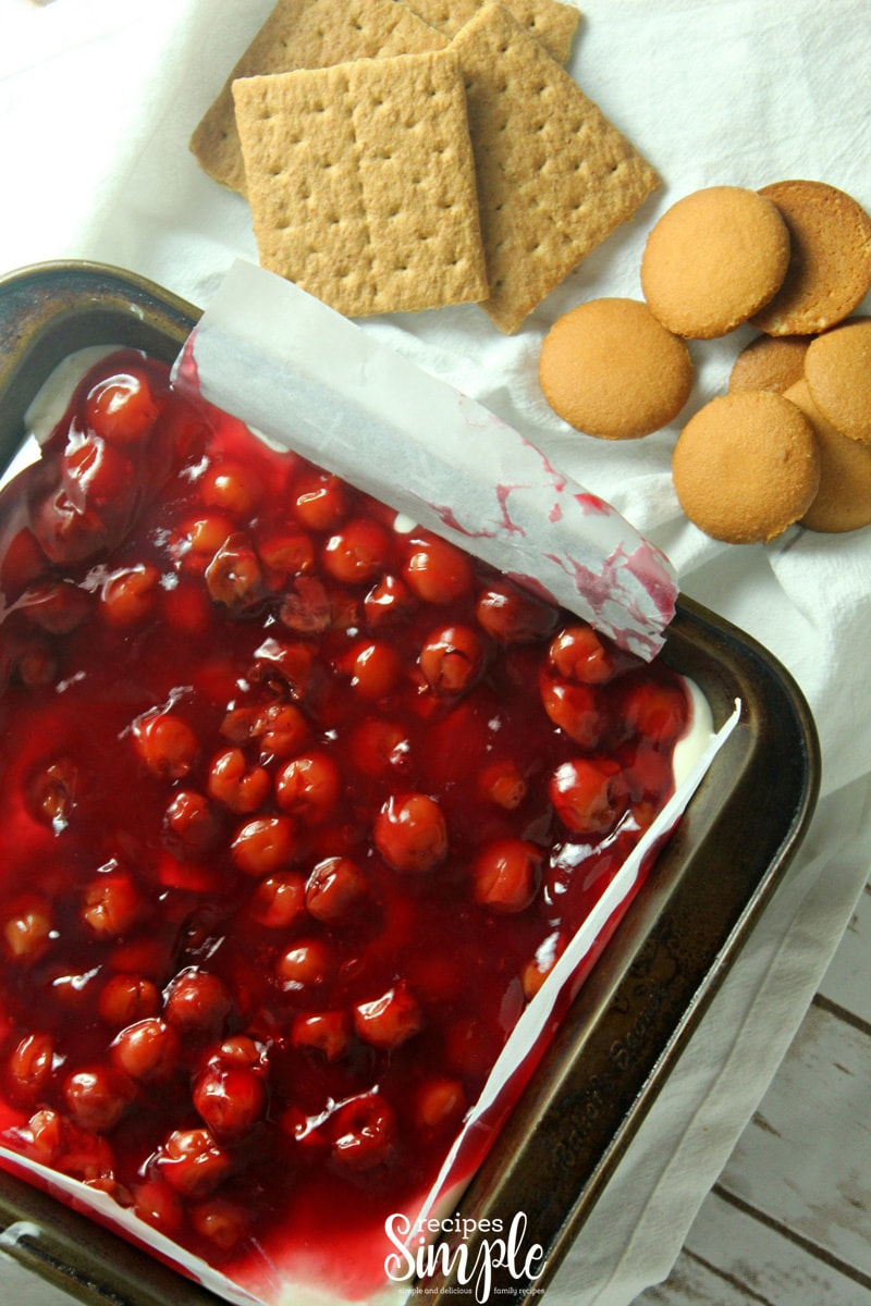 Cherry Cheese Cake Dip Dessert