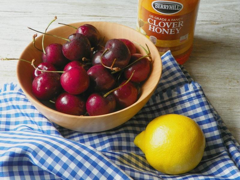 Cherry Jam Ingredients