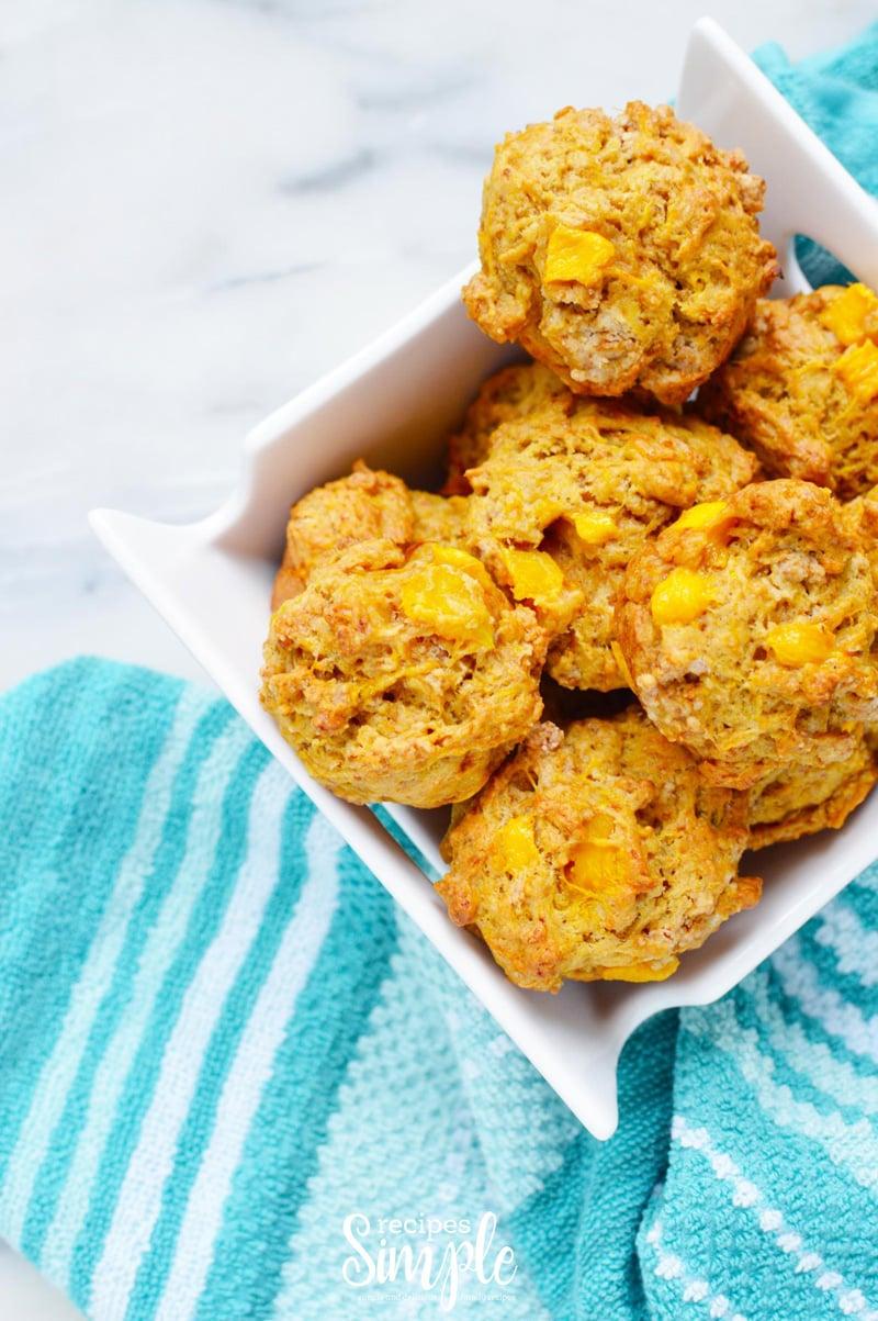 Easy Mango muffins