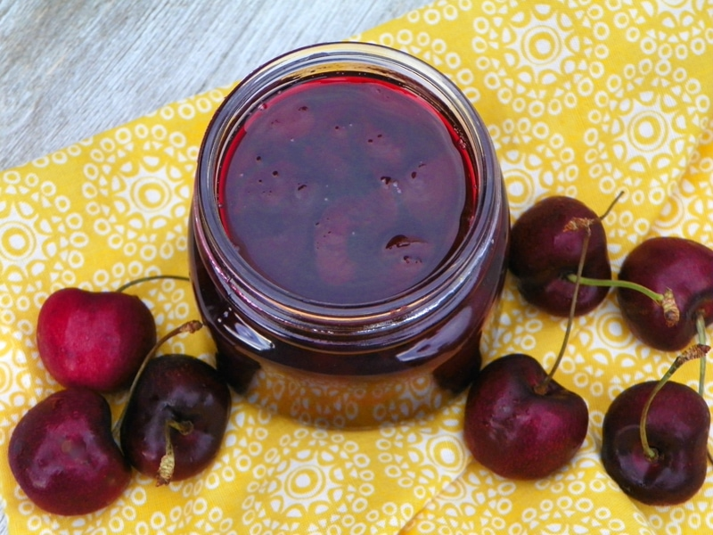 Instant Pot Homemade Cherry Jam