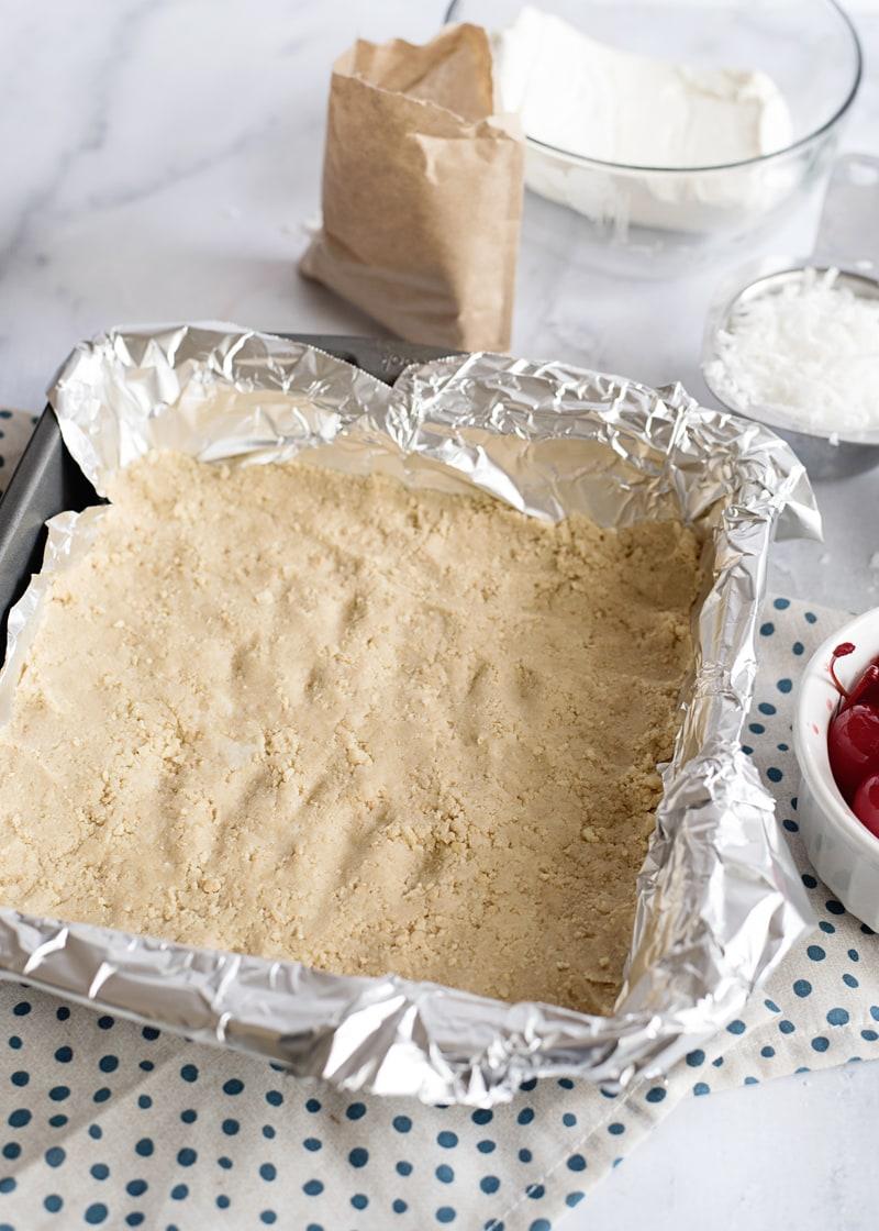 Pina Colada Bar Cookie Crust