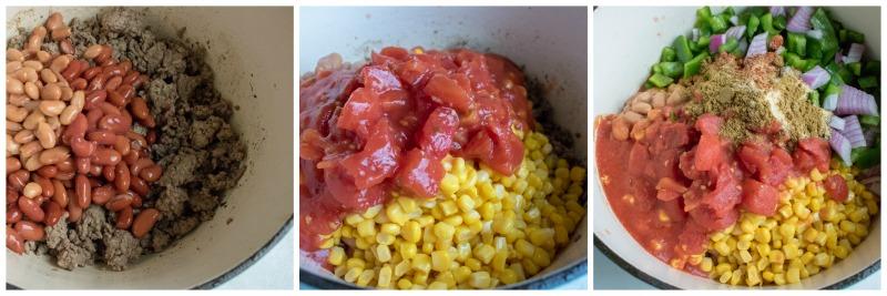 Tex Mex Hamburger Soup Stockpot Ingredients