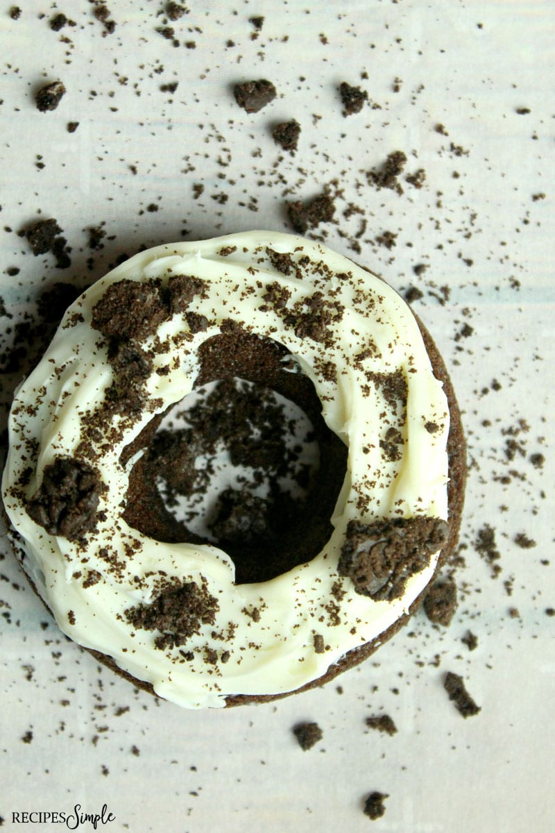 Baked Oreo Donuts Recipe