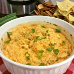 Instant Pot Buffalo Chicken Dip Appetizer