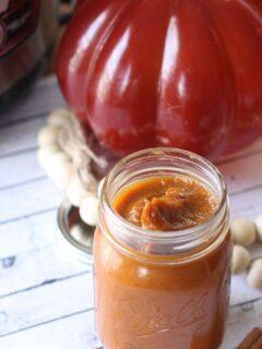 Instant Pot Spiced Pumpkin Butter