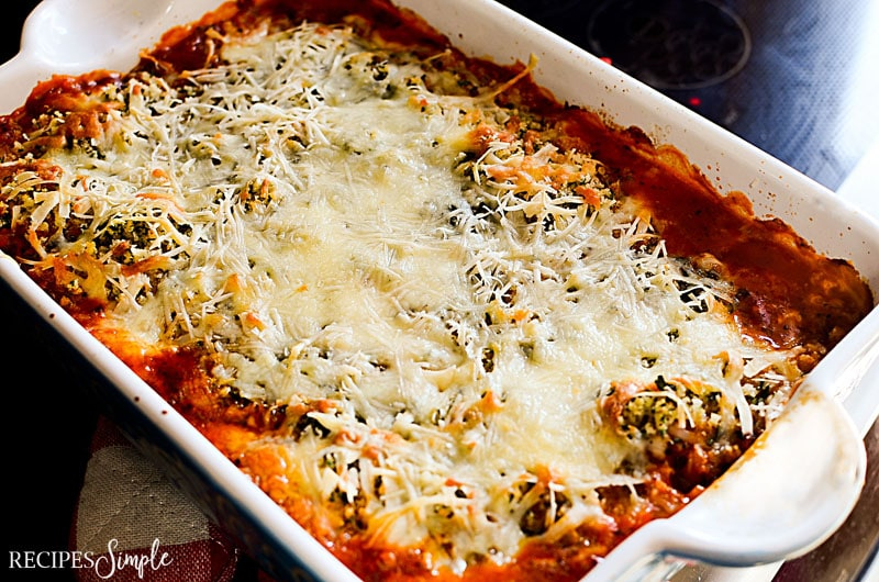 Parmesan Marinara Chicken Bake