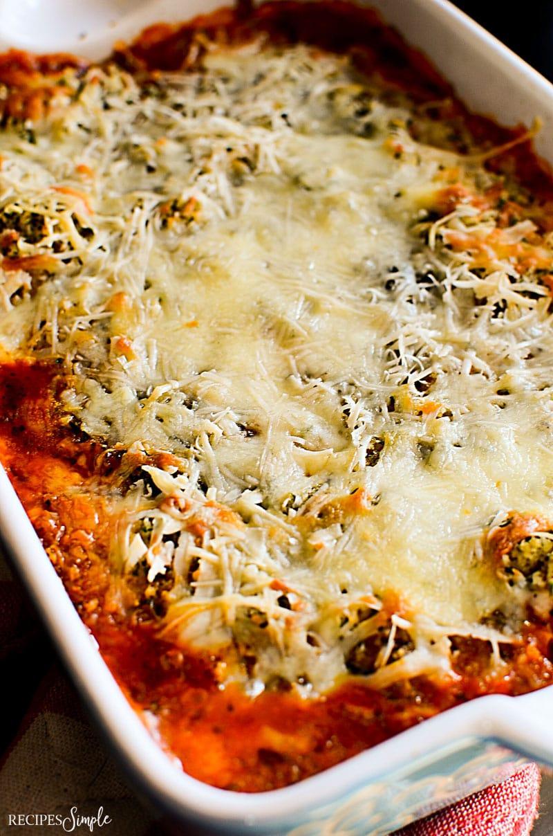 Parmesan Marinara Chicken Casserole