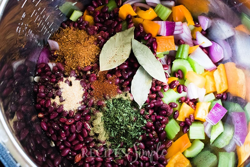 Instant Pot Red Beans And Rice Ingredients