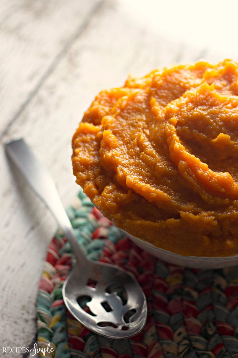 Easy Whipped Sweet Potatoes