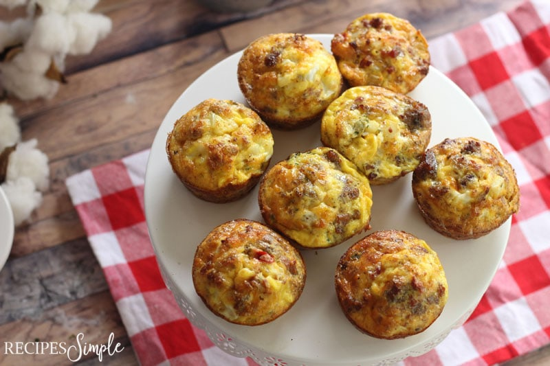 Farmhouse Loaded Egg Muffin Cups