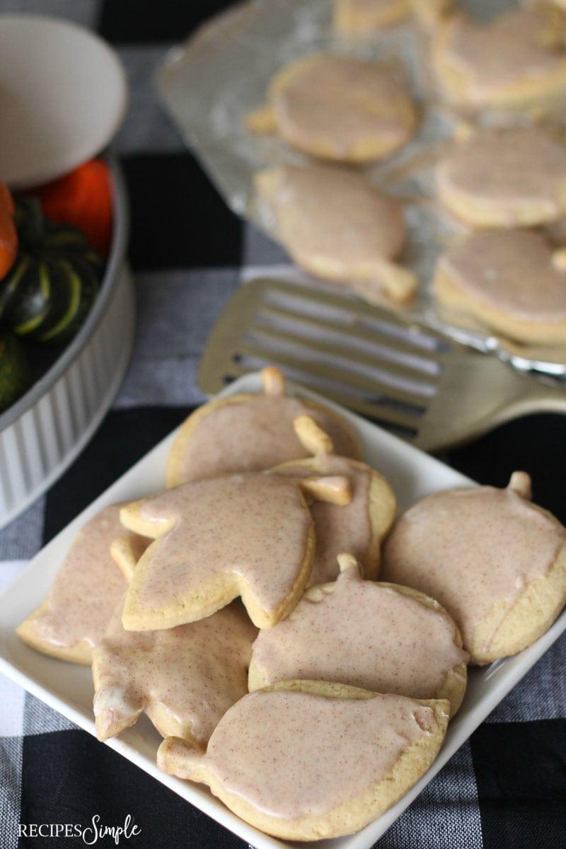 Pumpkin Spice Maple Sugar Cookie Recipe