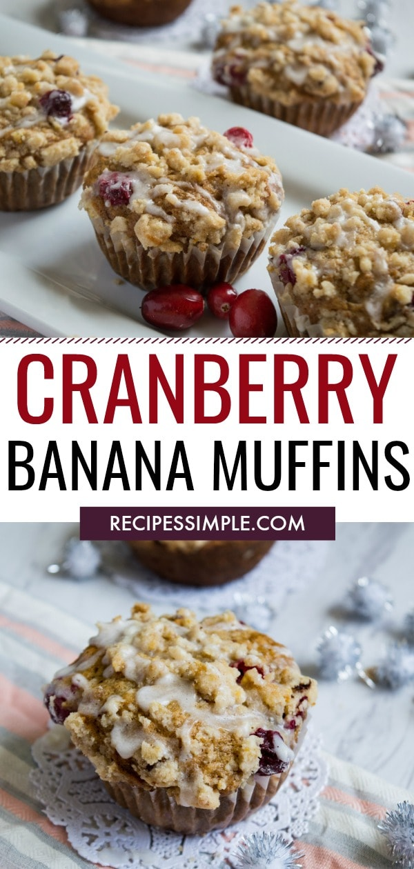 Cranberry Banana Muffin Recipe