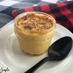 Creamy Eggnog Custard