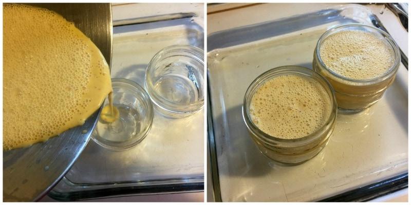 Eggnog Custard Process