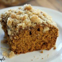 Gingerbread Coffee Cake