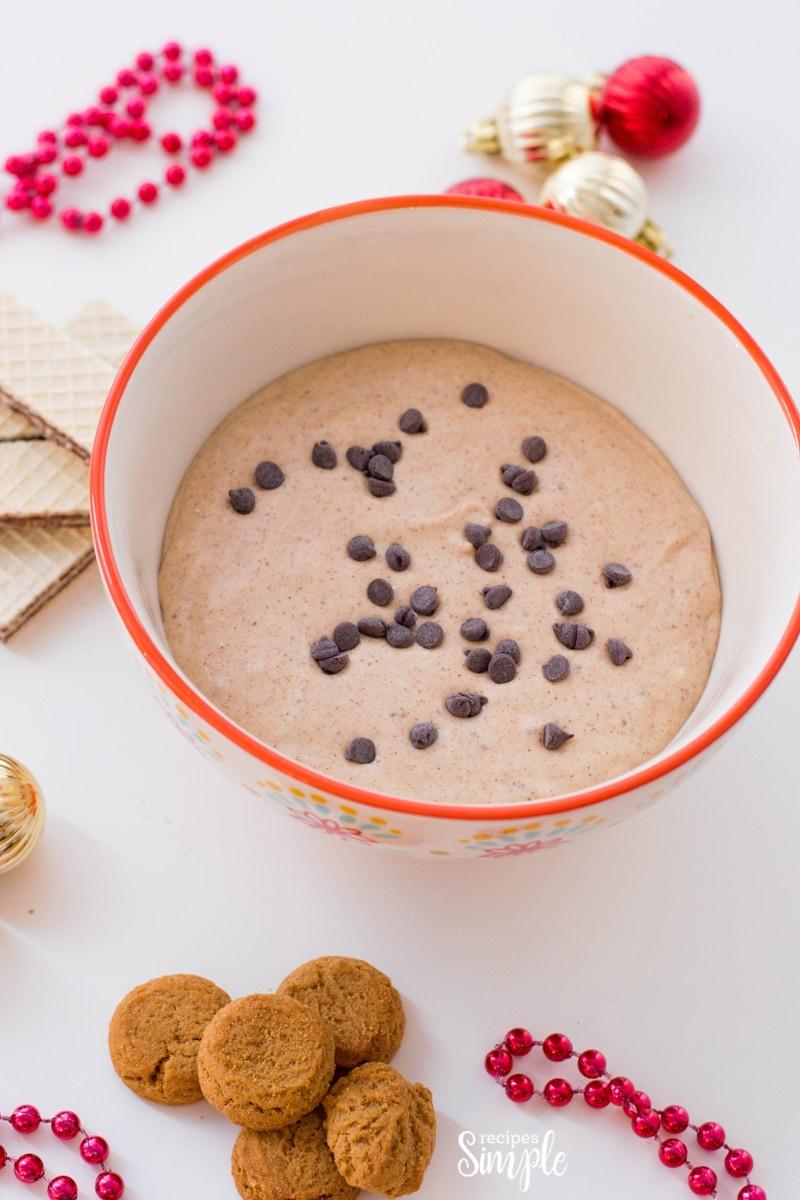 Gingerbread Cream Cheese Dip Recipe
