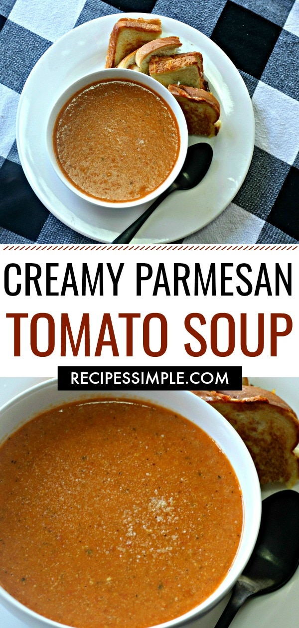 Parmesan Tomato Soup Recipe