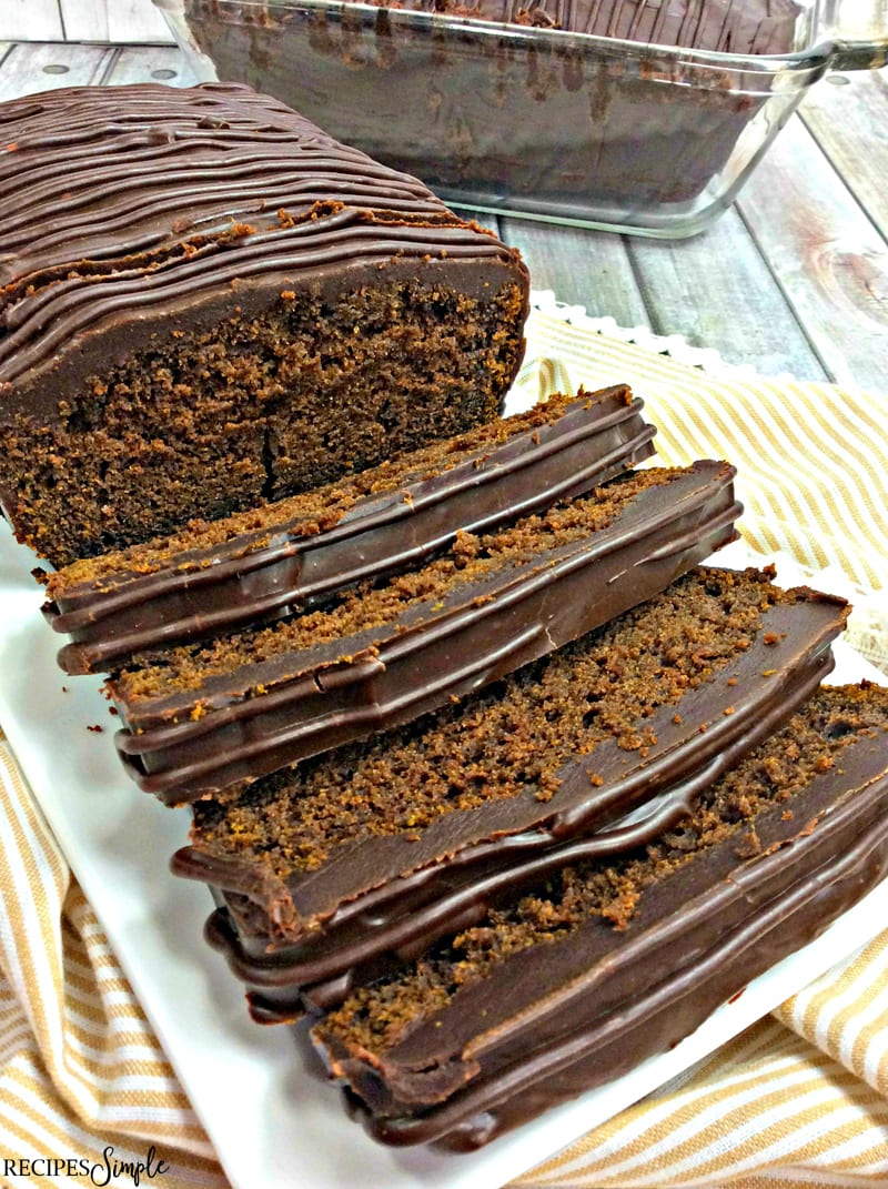 Pumpkin Chocolate Pound Cake