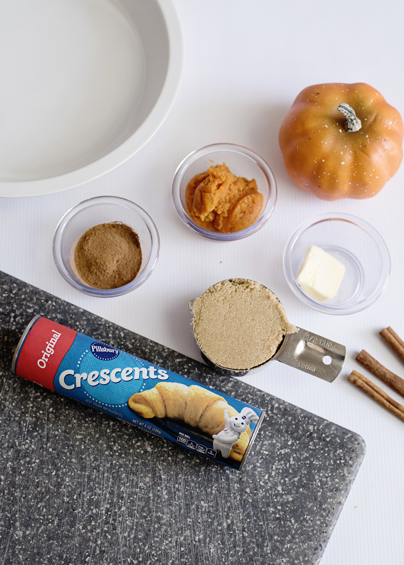 Pumpkin Spice Cinnamon Rolls Ingredients