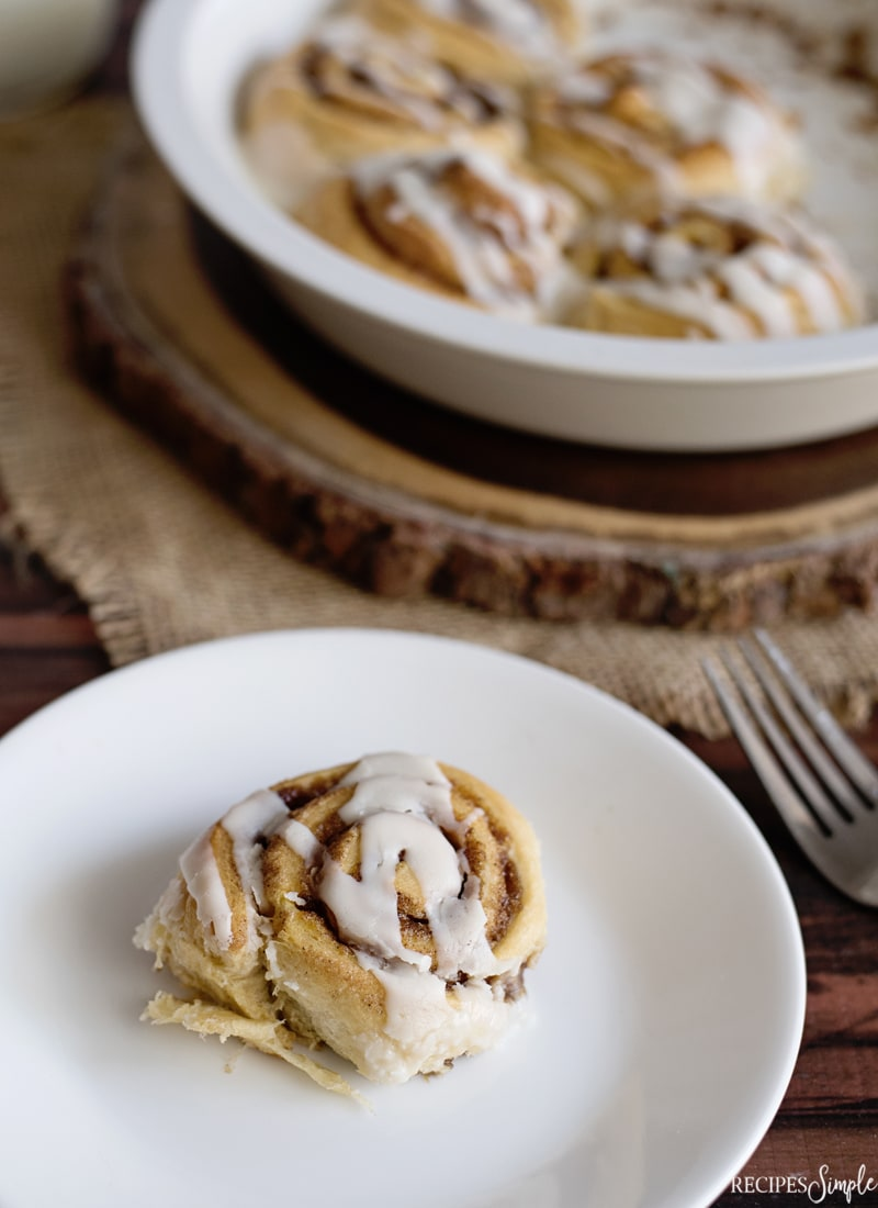 Pumpkin Spice Cinnamon Rolls Recipe