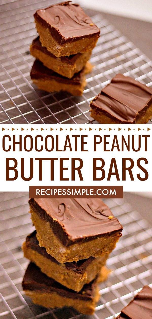 Best Chocolate Peanut Butter Bars