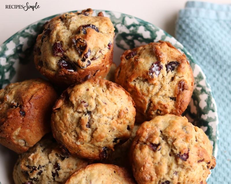 Cranberry Pecan Muffins Recipe