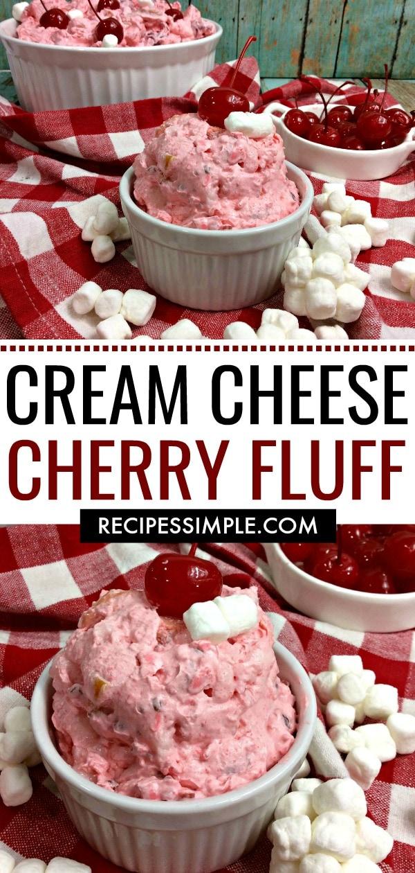 Cream Cheese Cherry Fluff