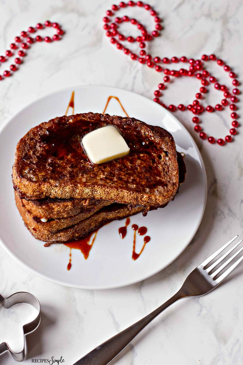 Easy Gingerbread French Toast Recipe