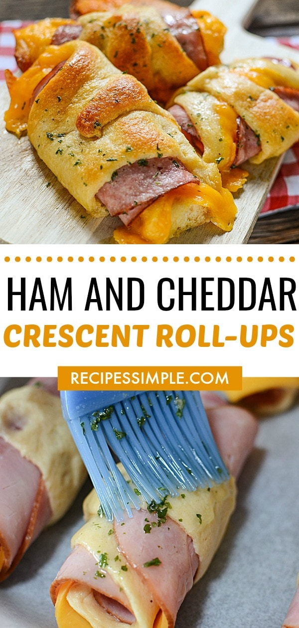 Hot Ham And Cheese Rollups