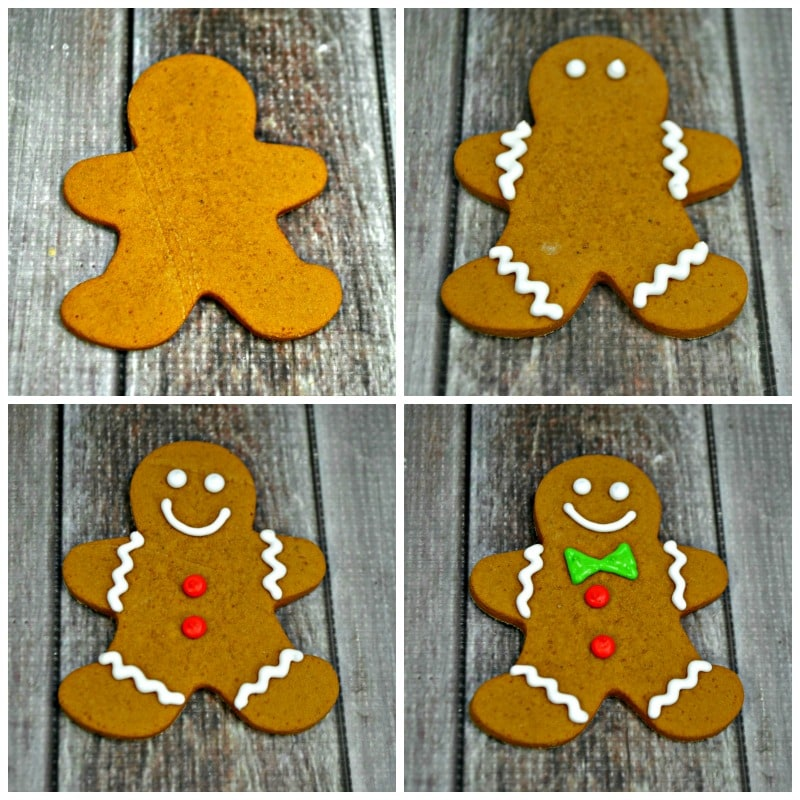 How To Decorate Gingerbread Men Cookies