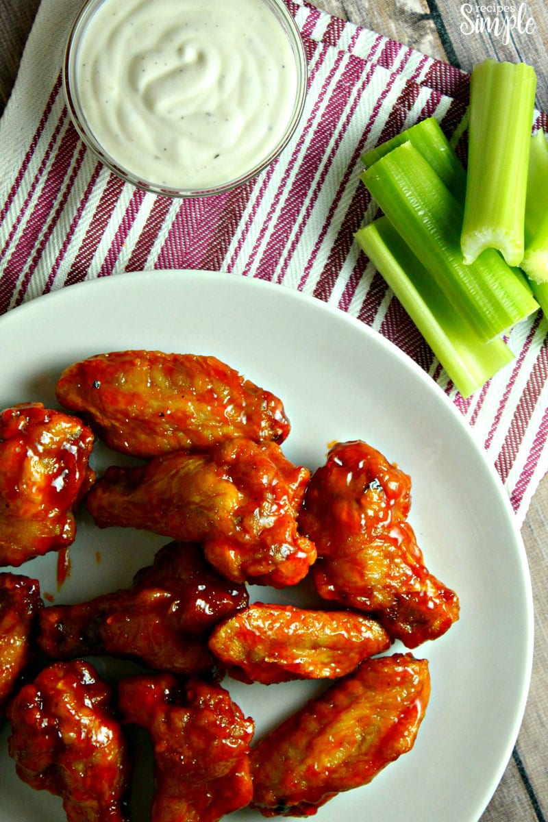 How To Make Crispy Oven Baked Hot Wings