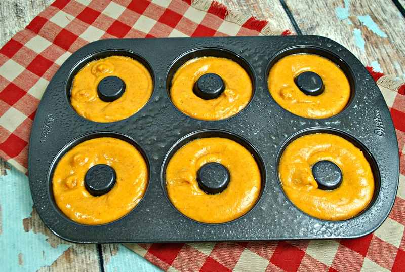 Pumpkin Donuts in Donut Pan