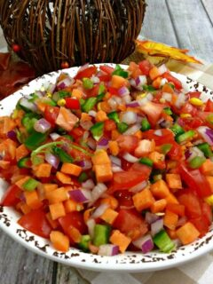 Sweet Potato Pico De Gallo