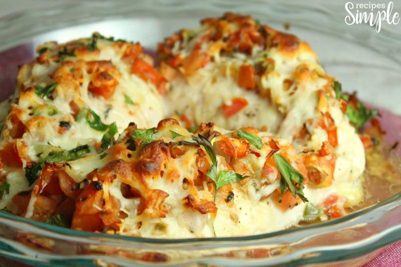 Baked Salsa Fresca Chicken