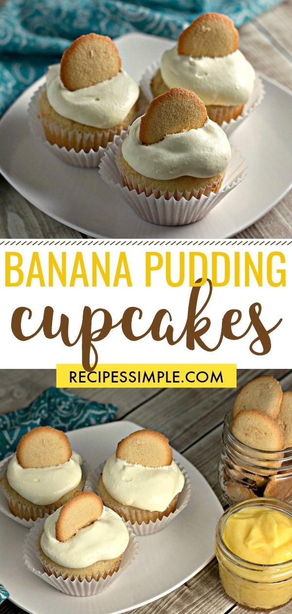 Banana Pudding Cupcake Recipe