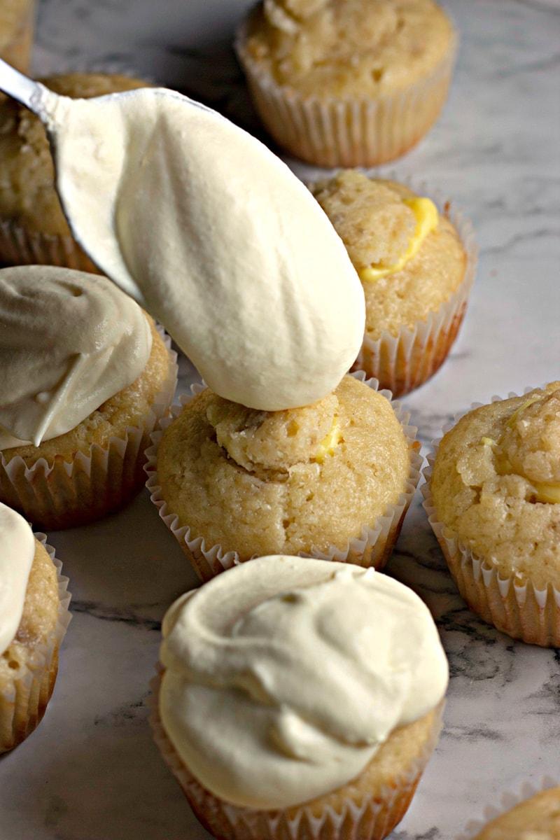 Banana Pudding Cupcakes Icing